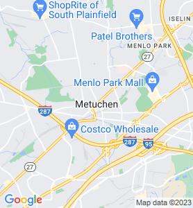 Metuchen NJ Map