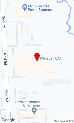 Google Map of Michigan Cat 24800 Novi Road, Novi, MI, 48375