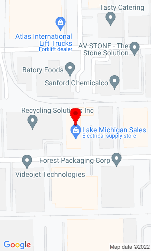 Google Map of Michigan Sales & Equipment, Inc. 1550 West Washington Street, Marquette, MI, 49855,