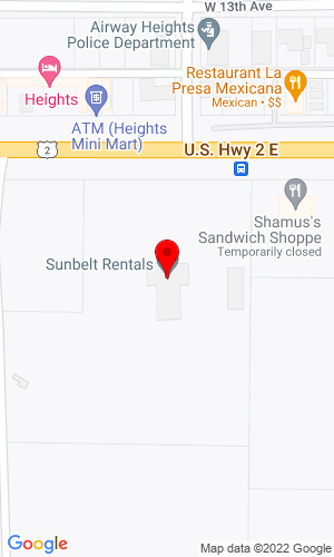 Google Map of Mid Mountain Machinery 7916 W. Sunsey Highway, Spokane, WA, 99224