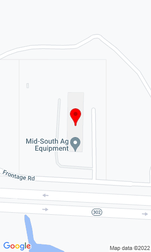Google Map of Mid-South Ag Equipment 3044 Highway 302, Byhalia, MS, 38611