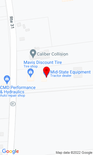 Google Map of Mid-State Equipment Co., Inc 1462 River Road, Titusville, NJ, 08560