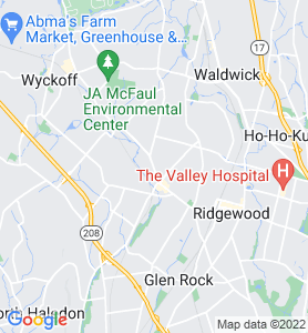 Midland Park NJ Map