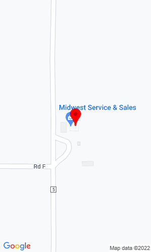 Google Map of Midwest Service and Sales Co. 602 Road 5, Schuyler, NE, 68661