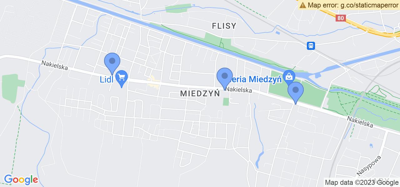 Osiedle Miedzyń-Prądy w Bydgoszczy – w tych punktach ekspresowo wyślesz turbinę do autoryzowanego serwisu