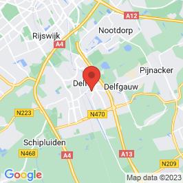 Google map of Laboratoriumschool, Delft