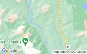 Map of Squamish Valley Campsite & RV Park