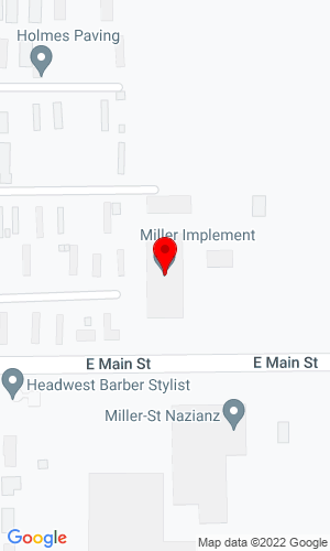 Google Map of Miller Implement 500 East Main Street, St. Nazianz, WI, 54232