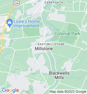 Millstone NJ Map