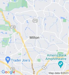 Milton GA Map