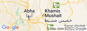 Khamis Mushait map