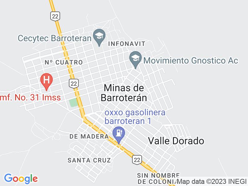 Minas de Barroterán, Coahuila