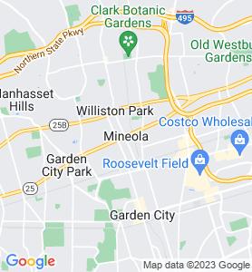 Mineola NY Map