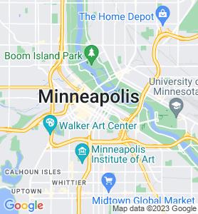 Minneapolis MN Map