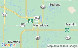 Map of Minnedosa Campground
