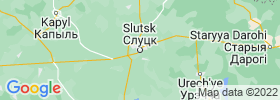 Slutsk map