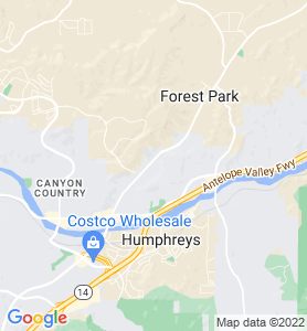 Mint Canyon CA Map