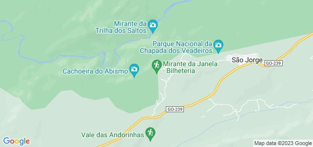 Mirante da Janela, Parque Nacional da Chapada dos Veadeiros