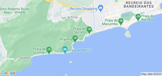 Mirante do Caeté - Avenida Estado da Guanabara - Recreio dos Bandeirantes, Rio de Janeiro - RJ