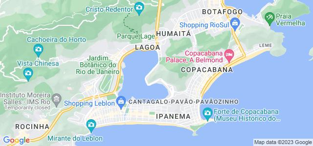 Mirante do Urubu, Parque Natural Municipal da Catacumba - Rio de Janeiro
