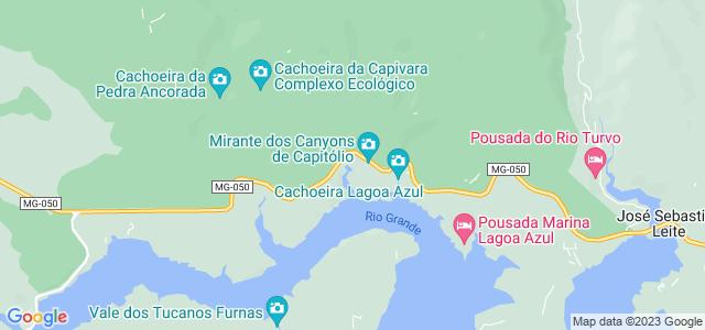 Mirante dos Cânions, Capitólio, Minas Gerais