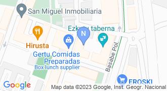 Leibar arrandegia mapa