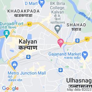 Google Map of Modi Diagnostics, Karnik Road, Kalyan (W) - 421301