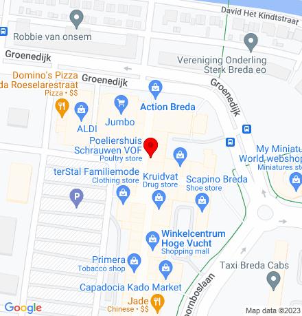 Google Map of Moerwijk 30 4826 HP Breda