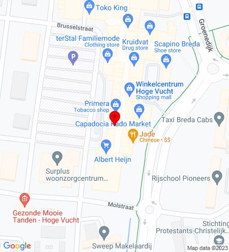 Google Map of Moerwijk 6, 4826 HN Breda