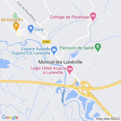 bed and breakfast Moncel-lès-Lunéville