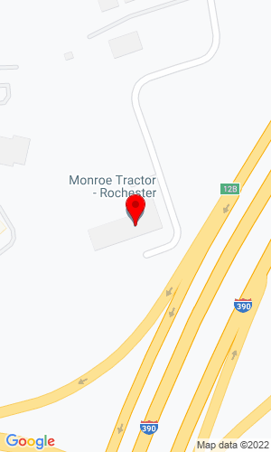 Google Map of Monroe Tractor 1001 Lehigh Station Road, Henrietta, NY, 14467