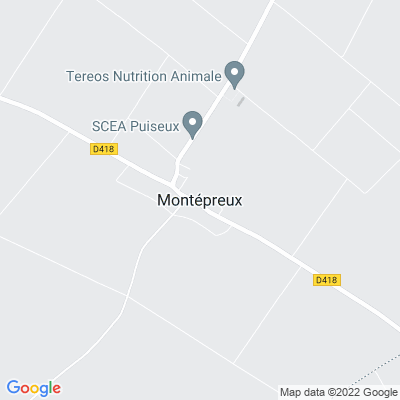 bed and breakfast Montépreux