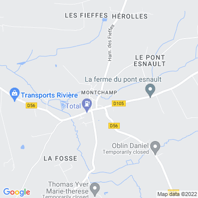 bed and breakfast Montchamp
