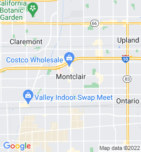 Montclair CA Map