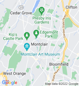 Montclair NJ Map