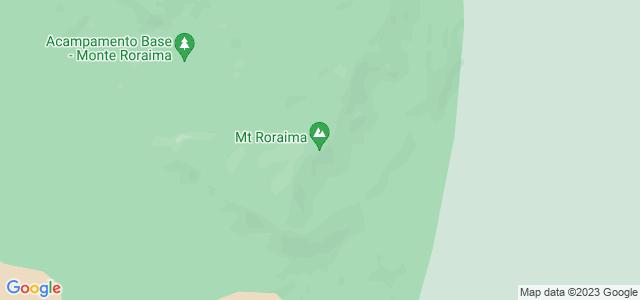 Monte Roraima, tríplice fronteira entre Brasil, Venezuela e Guiana