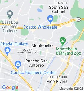 Montebello CA Map