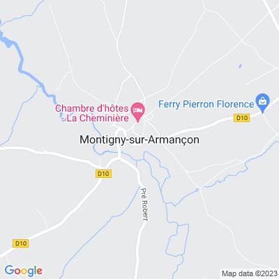 bed and breakfast Montigny-sur-Armançon