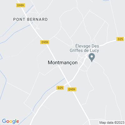 bed and breakfast Montmançon