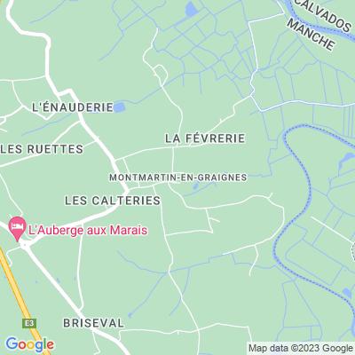 bed and breakfast Montmartin-en-Graignes