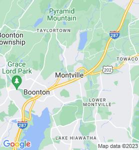 Montville NJ Map