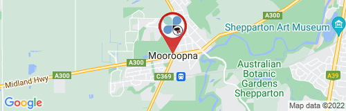 Mooroopna google map