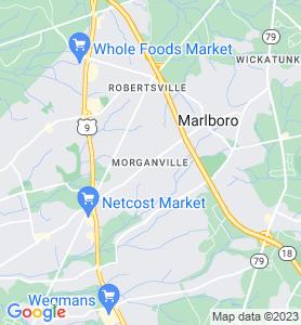 Morganville NJ Map