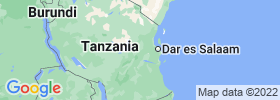 Morogoro map