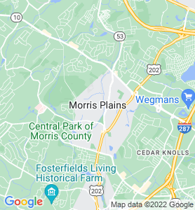 Morris Plains NJ Map