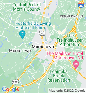 Morristown NJ Map
