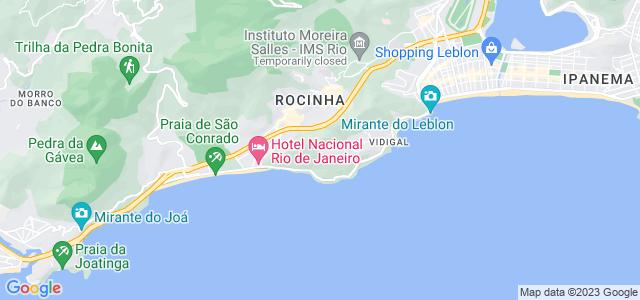 Morro Dois Irmãos, Vidigal, Rio de Janeiro - RJ
