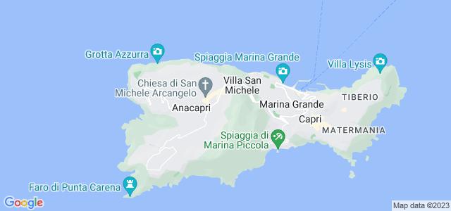 Morro Solaro, Ilha de Capri, Itália