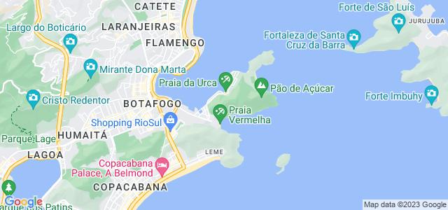 Morro da Urca, Praça General Tibúrcio, Urca, Rio de Janeiro - RJ