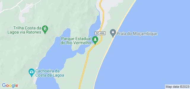 Morro das Aranhas, Parque Estadual do Rio Vermelho, Florianópolis, Santa Catarina